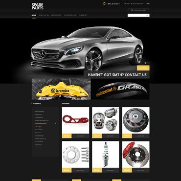 Auto Parts Responsive OpenCart Template