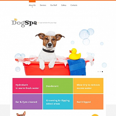 Dog Moto CMS HTML Template