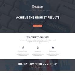 Merchant Services Responsive Website Template