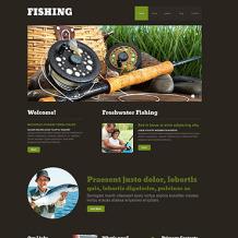 Fishing Responsive WordPress Theme