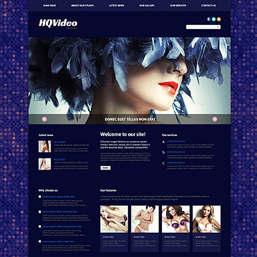 Video Lab Responsive Joomla Template