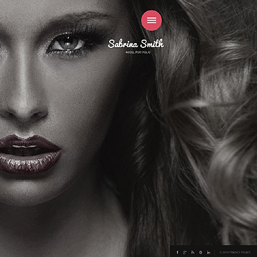 Model Portfolio Responsive Website Template