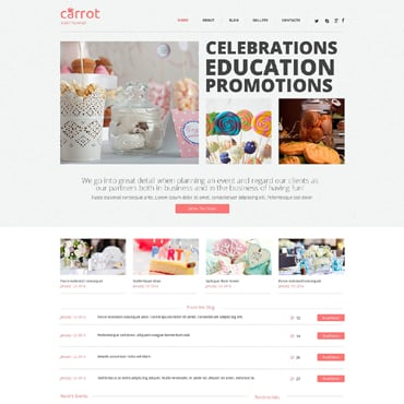Event Planner Responsive WordPress Theme