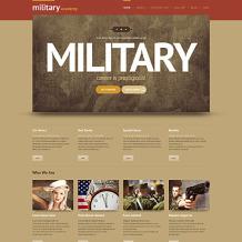 Army Responsive WordPress Theme