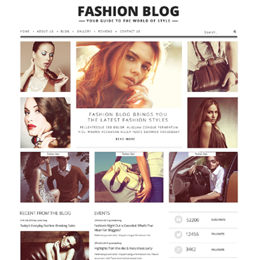 Fashion Blog Responsive WordPress Theme