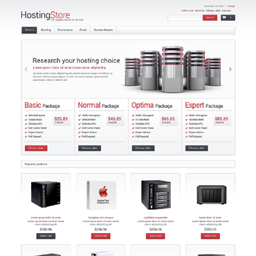 Hosting VirtueMart Template