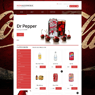 Food & Drink Responsive WooCommerce Theme