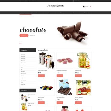 Sweet Shop Responsive WooCommerce Theme