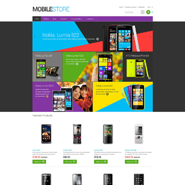 Mobile Store Responsive Shopify Theme