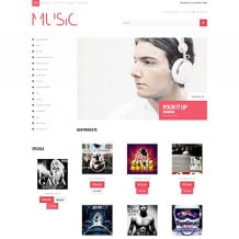 Music Store Responsive Loaded7 Template