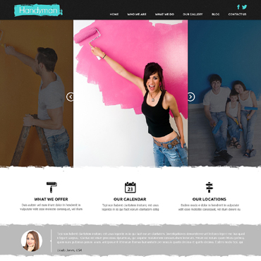 Home Repairs Responsive Joomla Template