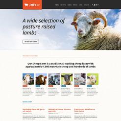 Sheep Farm Responsive Website Template