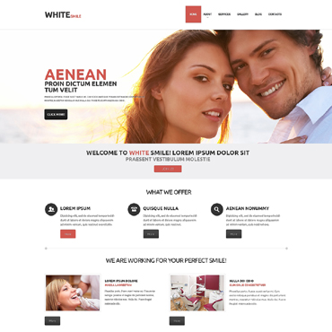 Dentistry WordPress Theme