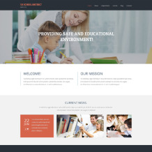 Primary School Responsive WordPress Theme