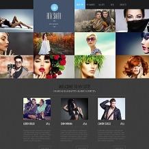 Photographer Portfolio Photo Gallery Template