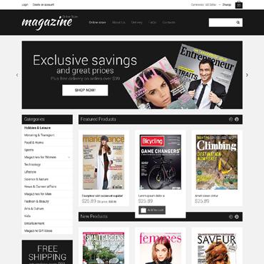 News Portal VirtueMart Template