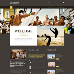Martial Arts Responsive WordPress Theme