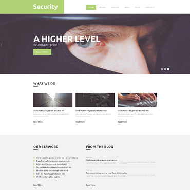 Locksmith Responsive WordPress Theme