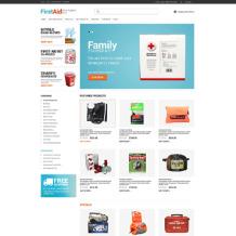 Ambulance ZenCart Template