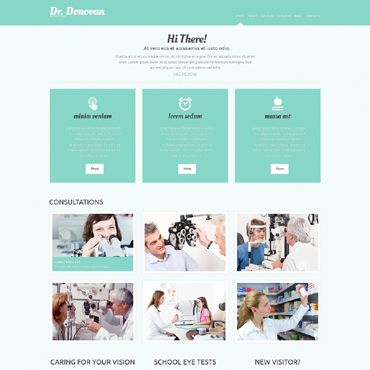 Optometrist's WordPress Theme