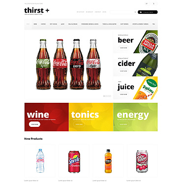 Food & Drink Responsive Magento Theme #49293