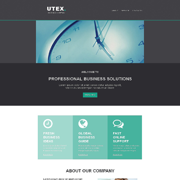 Management Company Responsive Newsletter Template