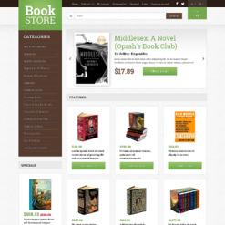 Book Store Responsive OpenCart Template
