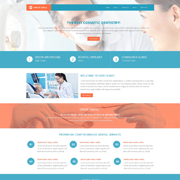 Dentistry Drupal Template