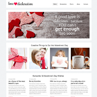 Gifts Store Responsive Website Template