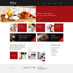 Hotels Responsive WordPress Theme