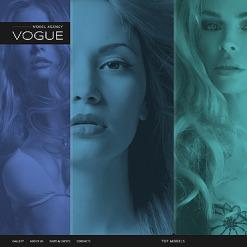 Model Agency Website Template
