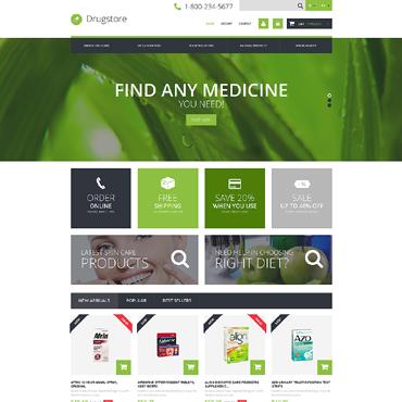 Medical Ecommerce Business PrestaShop Theme #49469