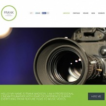 Photographer Portfolio Flash CMS Template