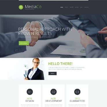 Advertising Agency WordPress Theme #49545