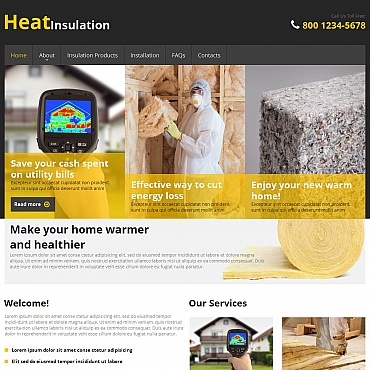 Home Repairs Moto CMS HTML Template #49613
