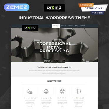Steelworks Responsive WordPress Theme
