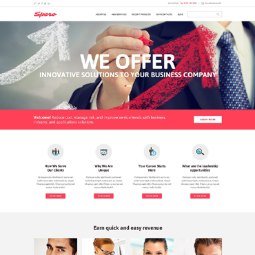 Outsourcing Company Drupal Template