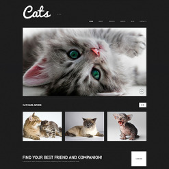 Cat Responsive WordPress Theme