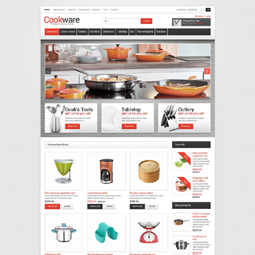 Housewares ZenCart Template