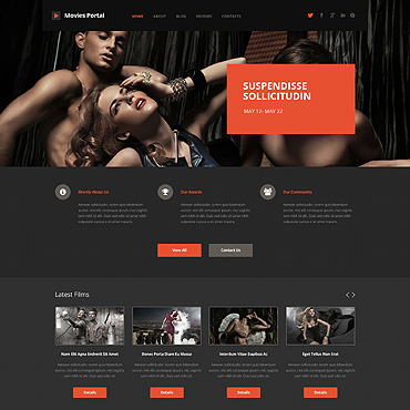 Movie WordPress Theme