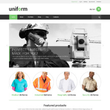 Fire Department Responsive WooCommerce Theme