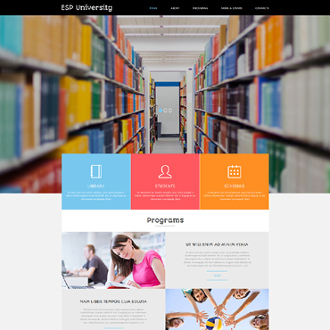 Education Centre Joomla Template #50797