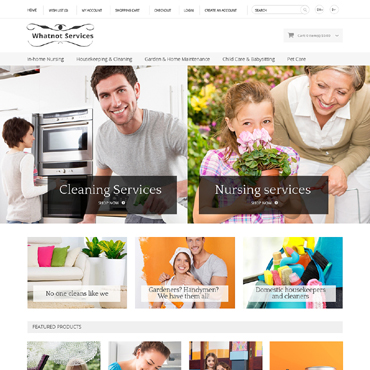 Maintenance Services Responsive OpenCart Template