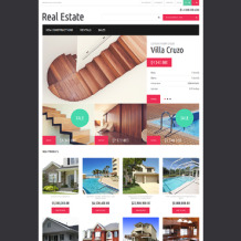 Real Estate Agency Responsive Magento Theme