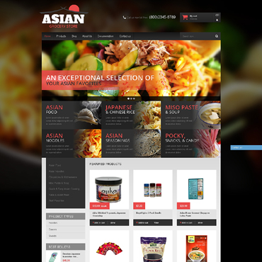 Grocery Store Responsive Shopify Theme