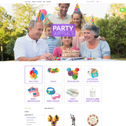 Event Planner VirtueMart Template