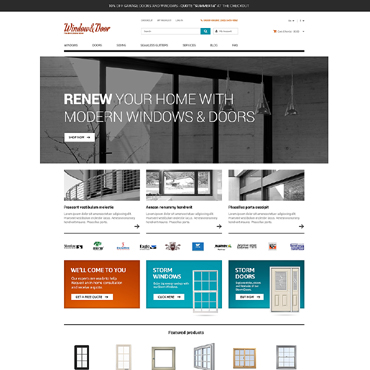 Window OsCommerce Template