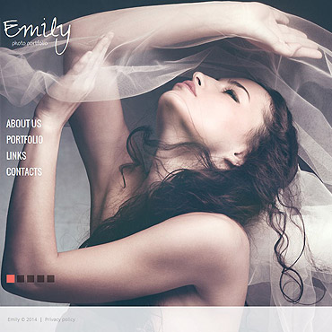 Model Portfolio Photo Gallery Template