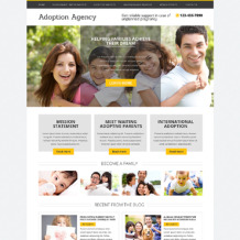 Adoption Agency Drupal Template