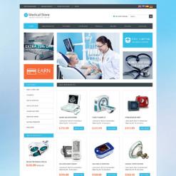 Medical Equipment OsCommerce Template